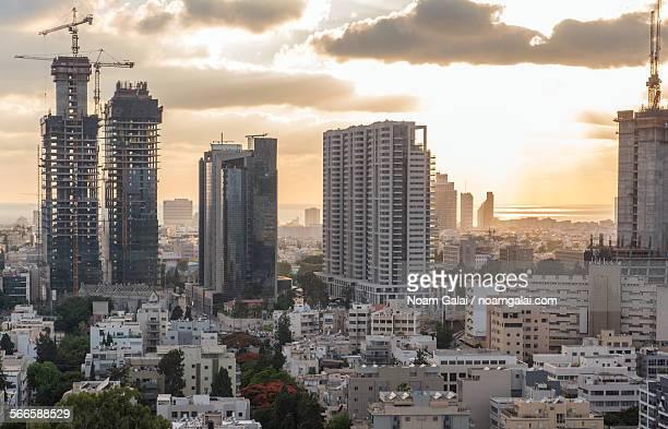 Tel-Aviv City buildings