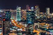 Tel-Aviv south skyline