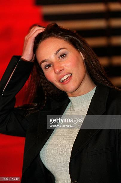 'Tele 7 Jours' 40Th Birthday Party At 'Theatre De L'Empire' On April 27Th 2000 In Paris France Vanessa Demouy