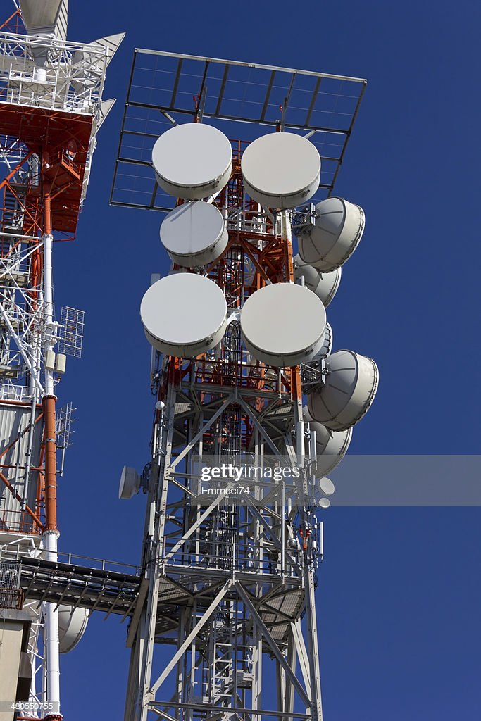 Telecommunication Antenna : Stock Photo