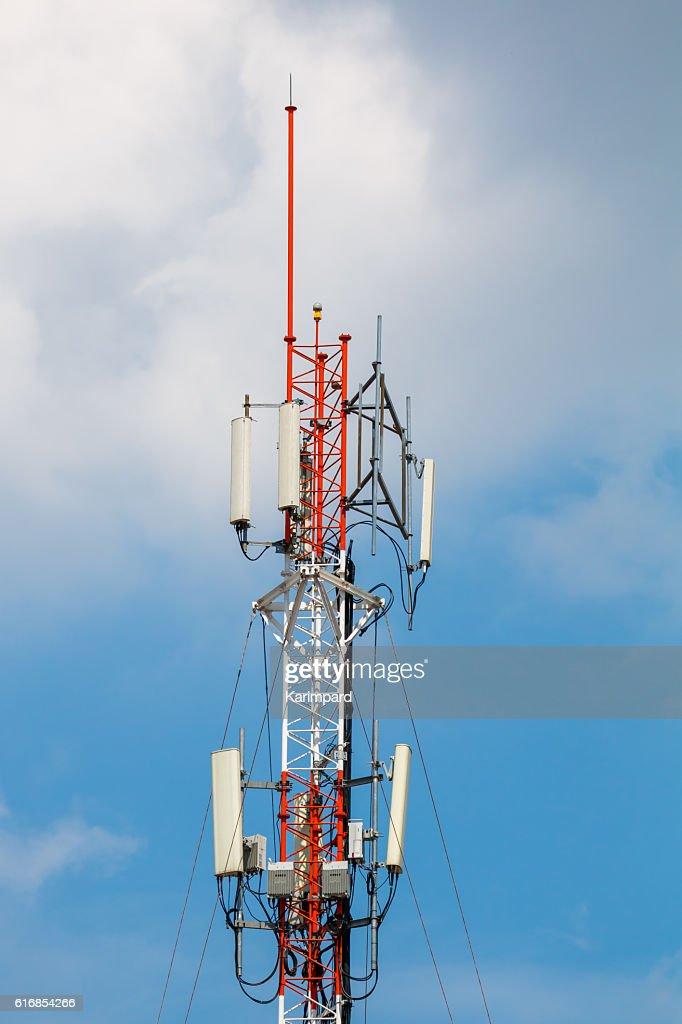 Telecommunication tower : Stock Photo