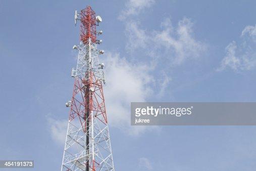 Torre de Telecomunicações : Foto de stock