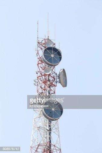 Torre delle telecomunicazioni. : Foto stock
