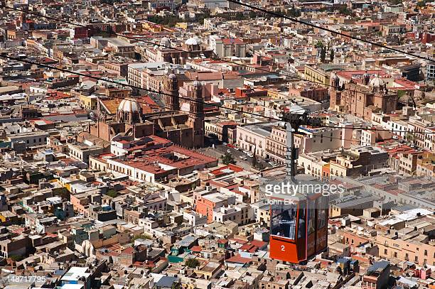 Teleferico and Zacatecas city.