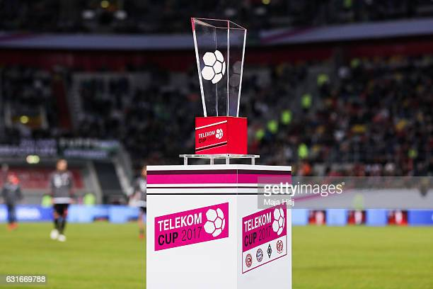 Telekom Cup is seen prior the Telekom Cup 2017 match between Fortuna Duesseldorf and Bayern Muenchen at EspritArena on January 14 2017 in Duesseldorf...