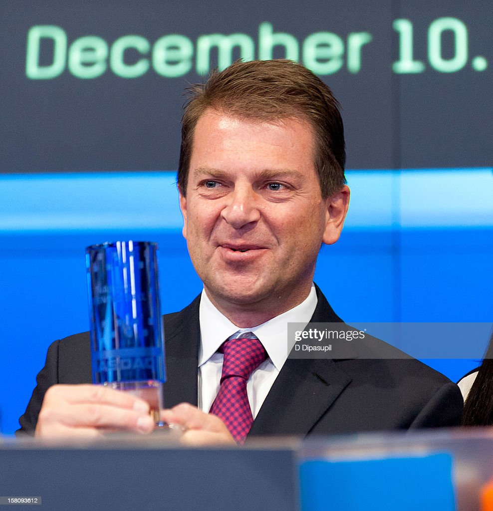 Telemundo Media president Emilio Romano attends the NASDAQ Opening Bell Ceremony celebrating Telemundo Media's new brand campaign at NASDAQ MarketSite on December 10, 2012 in New York City.