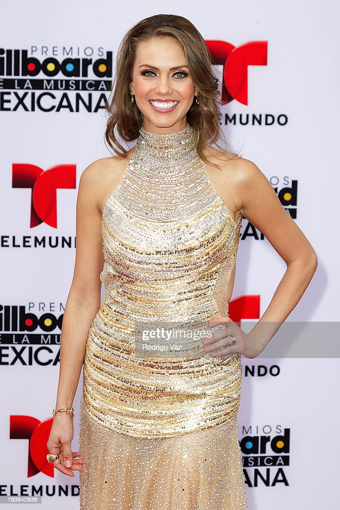 Telemundo presenter Jessica Carrillo attends the 2013 Billboard Mexican Music Awards arrivals at Dolby Theatre on October 9, 2013 in Hollywood, California.