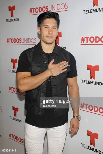 UNIDOS Telemundo's Primetime Special from Cisneros Studio in Miami FL Pictured Chyno Miranda on Sunday September 24 2017