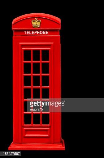 Teléfono Reino Unido : Foto de stock