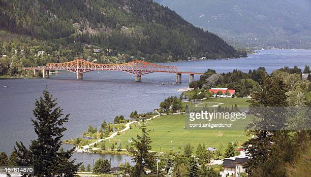 Telephoto Of Nelson Bridge And Lakeside From Gyro Park