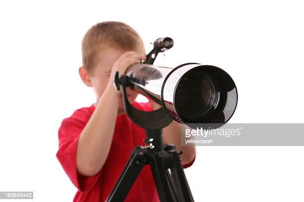 Télescope garçon