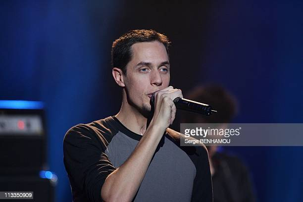 Telethon 2008 In Paris France On December 05 2008 Grand Corps Malade