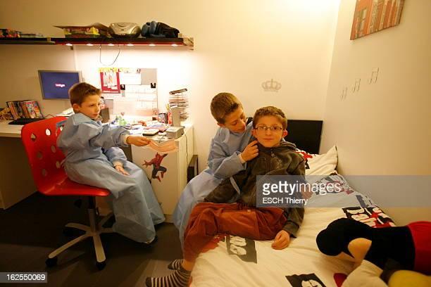 Maxence Bekier Téléthon 2010 Maxence BEKIER 9 ans souffre d'une forme inconnue de myopathie congénitale Sourd atteint d'une anomalie de la rétine...