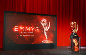 Television Academy Chairman CEO Bruce Rosenblum speaks onstage during the 68th Emmy Awards nominations announcement held at Saban Media Center on...