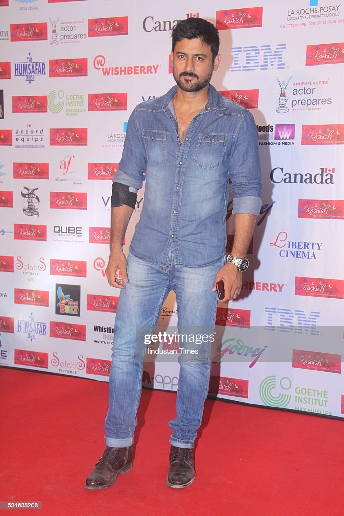 Television actor Manav Gohil during the opening ceremony of the 7th Kashish Mumbai International Queer Film Festival inaugurated by Hollywood actor Ian McKellen, at Liberty Cinema, Marine Lines, on May 25, 2016 in Mumbai, India. During a ceremony, McKellen said, 'I just want to say how happy I am to be at Kashish; it's my first visit to Mumbai. I made many friends already and I hope this evening to make many more. I've come to Mumbai to celebrate Shakespeare and to celebrate the connections between the United Kingdom and your country. And I've also come to support those who want to get rid of section 377 (which criminalizes homosexuality).'