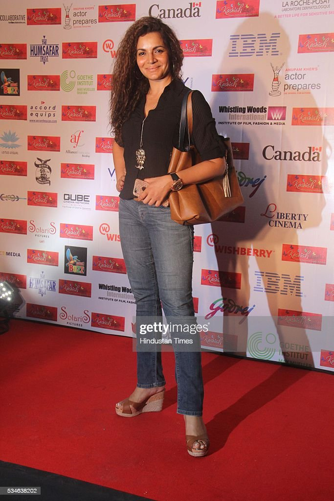 Television actor Shweta Kawatra during the opening ceremony of the 7th Kashish Mumbai International Queer Film Festival inaugurated by Hollywood actor Ian McKellen, at Liberty Cinema, Marine Lines, on May 25, 2016 in Mumbai, India. During a ceremony, McKellen said, 'I just want to say how happy I am to be at Kashish; it's my first visit to Mumbai. I made many friends already and I hope this evening to make many more. I've come to Mumbai to celebrate Shakespeare and to celebrate the connections between the United Kingdom and your country. And I've also come to support those who want to get rid of section 377 (which criminalizes homosexuality).'