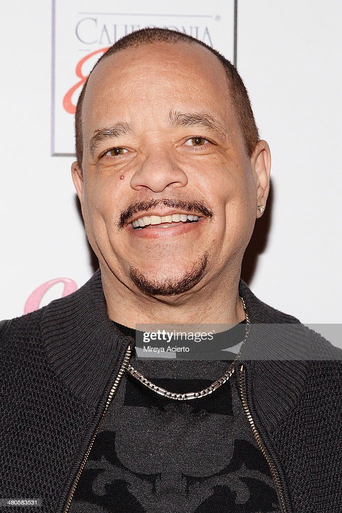 Television actor/rapper Ice T attends the Coco Licious launch party at The Raven on March 25, 2014 in New York City.