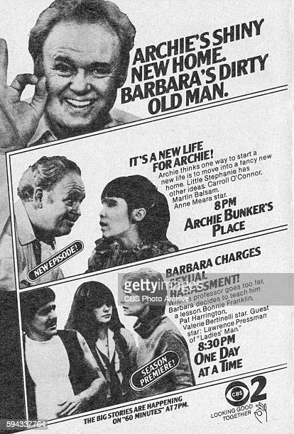Television advertisement as appeared in the November 8 1980 issue of TV Guide magazine An ad for the Sunday night comedies Archie Bunkers Place and...