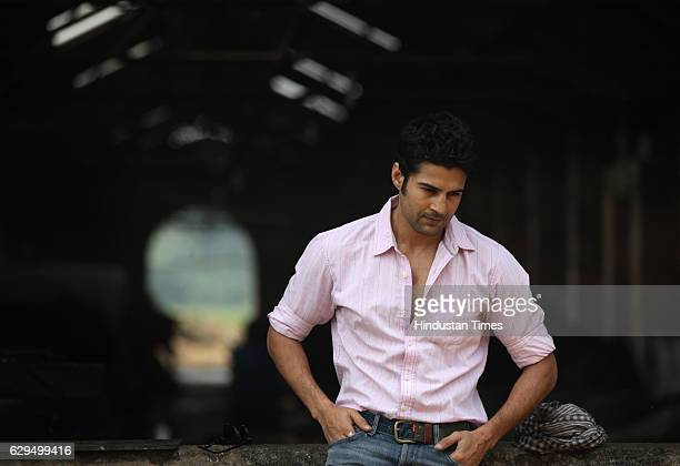 Television and bollywood actor Actor Rajeev Khandelwal poses for profile shoot