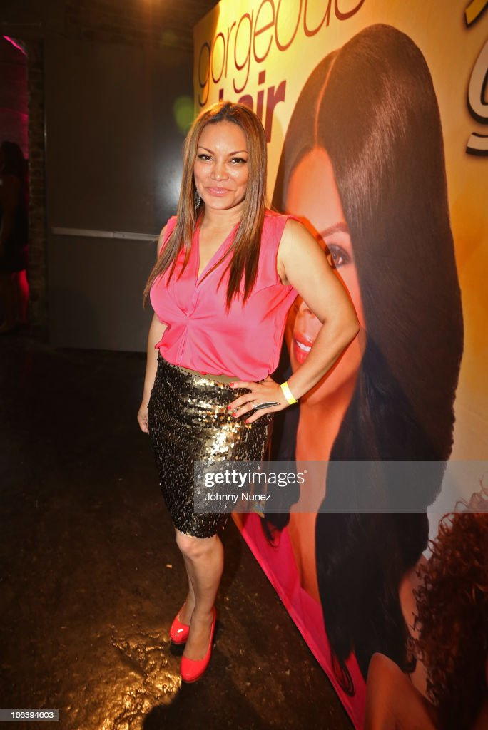 Television and radio personality Egypt Sherrod attends the relaunch of MegaGrowth at 'The Mane Event' at King Plow Arts Center on April 11, 2013, in Atlanta, Georgia.