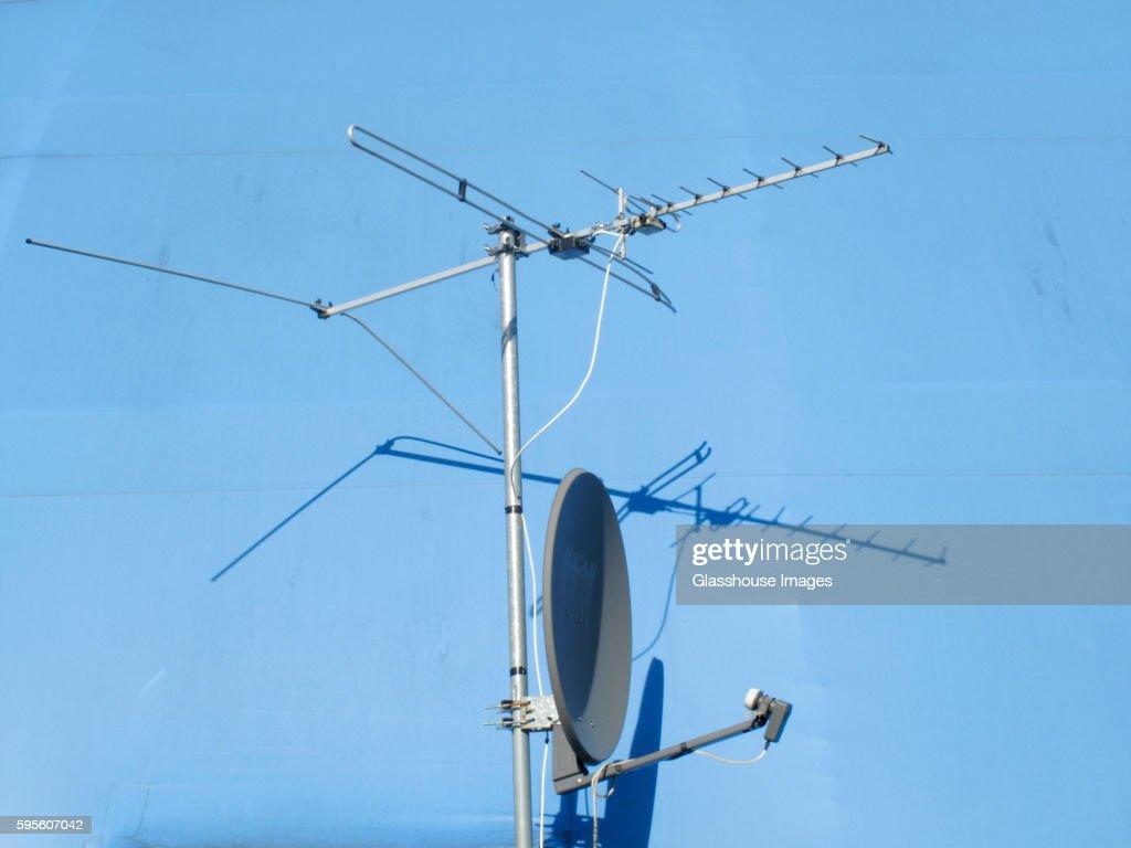 Television Antennae and Satellite Dish