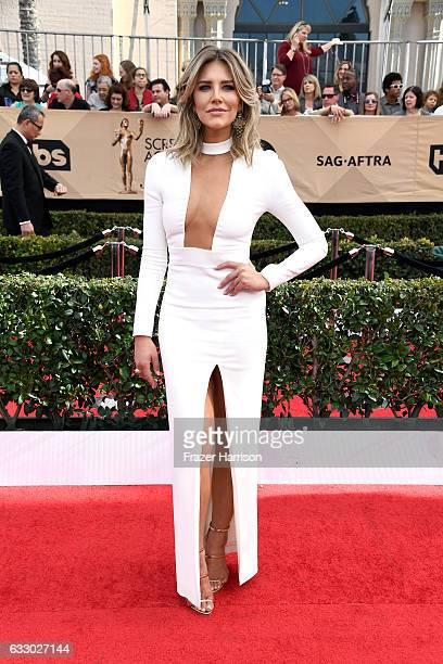 Television Charissa Thompson attends The 23rd Annual Screen Actors Guild Awards at The Shrine Auditorium on January 29 2017 in Los Angeles California...