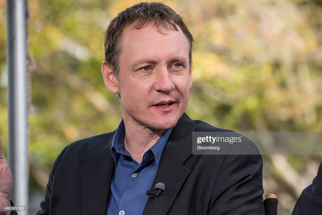 Television comedy writer and producer Alec Berg, speaks during a Bloomberg Television interview at the Vanity Fair 2015 New Establishment Summit in San Francisco, California, U.S., on Tuesday, Oct. 6, 2015. The summit assembles titans of technology, politics, business, and media for inventive programming and inspiring conversations around the ideas and innovations shaping the future. Photographer: David Paul Morris/Bloomberg via Getty Images