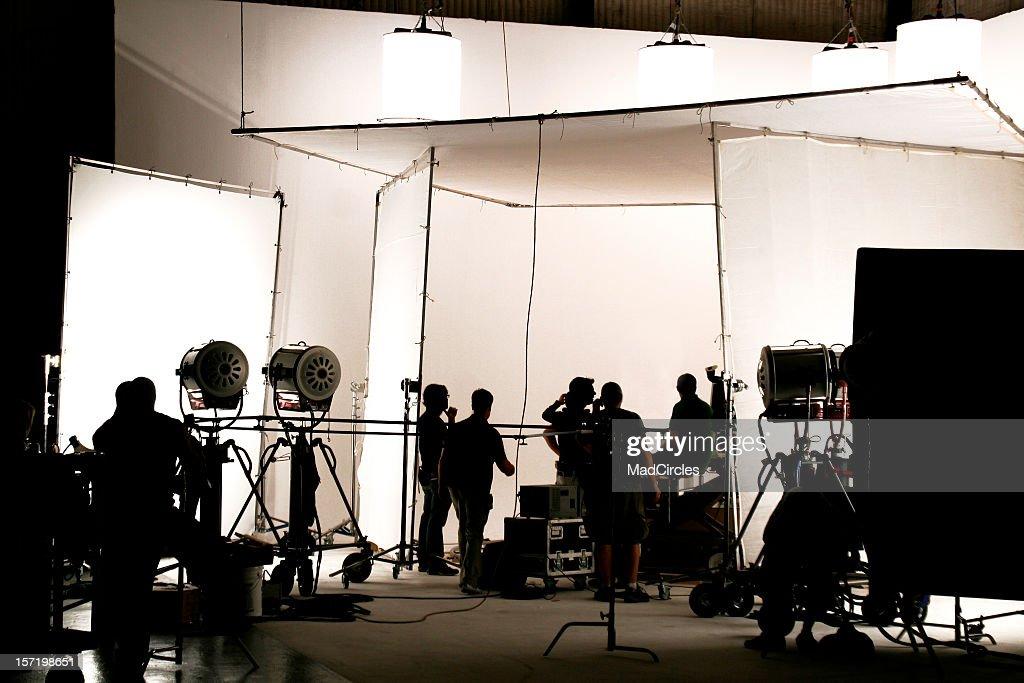 Television comercial production set.