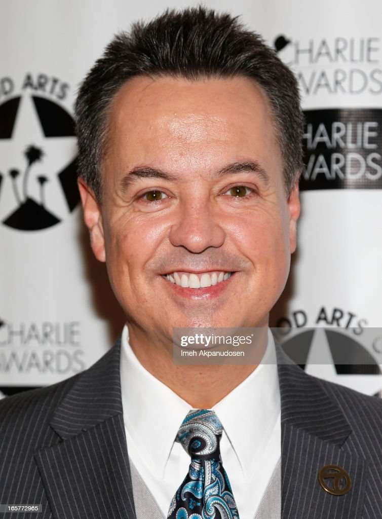 Television correspondent George Pennacchio attends Hollywood Arts Council's 27th Annual Charlie Awards Luncheon at Hollywood Roosevelt Hotel on April 5, 2013 in Hollywood, California.
