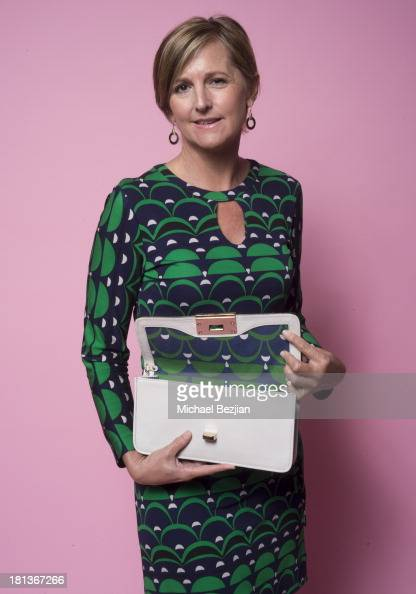 Television Executive Debra Weeks poses for a portrait at the Mark Kearney Group 'Iced Out' Luxury Emmy Suite on September 20 2013 in Los Angeles...