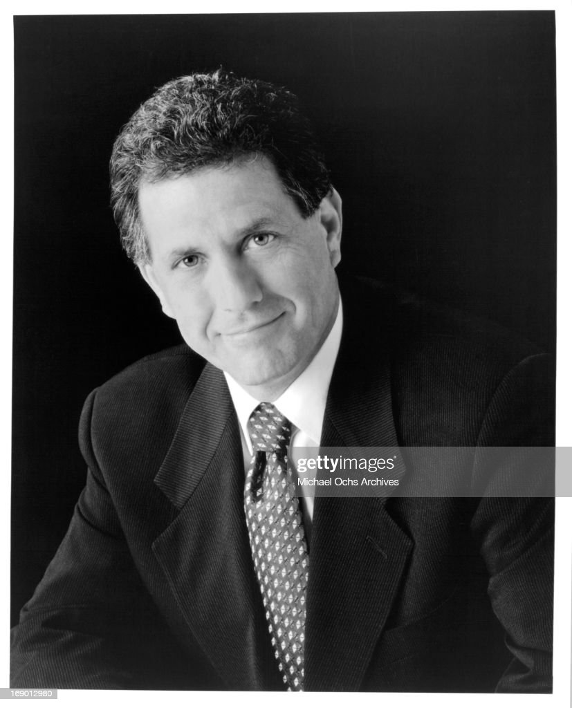 Television Executive Leslie Moonves poses for a portrait in circa 1985