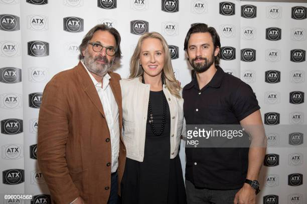 Television Festival at The Stephen F Austin Hotel Austin TX Pictured Ken Olin Jennifer Salke President NBC Entertainment Milo Ventimiglia