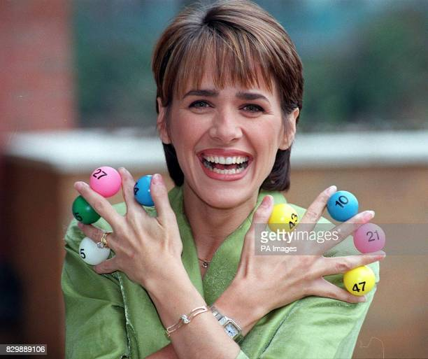 Television golden girl Carol Smillie who is to be the presenter of the new midweek BBC Lottery show in London today The host of daytime chat show...