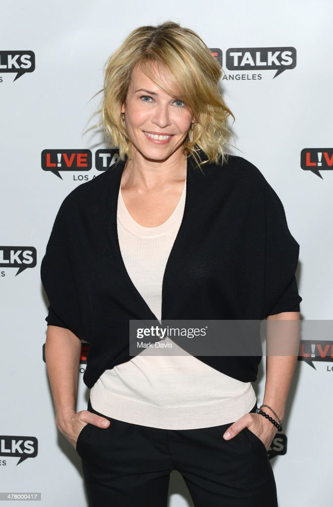 Television host <a gi-track='captionPersonalityLinkClicked' href=/galleries/search?phrase=Chelsea+Handler&family=editorial&specificpeople=599162 ng-click='$event.stopPropagation()'>Chelsea Handler</a> poses at the 'Live Talks Los Angeles Presents An Evening With <a gi-track='captionPersonalityLinkClicked' href=/galleries/search?phrase=Chelsea+Handler&family=editorial&specificpeople=599162 ng-click='$event.stopPropagation()'>Chelsea Handler</a> In Conversation With Gwyneth Paltrow' held at the Alex Theatre on March 11, 2014 in Glendale, California.