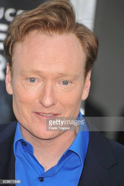 Television Host Conan O'Brien arrives at the Premiere of Paramount Pictures' 'Super 8' held at the Regency Village Theater in Westwood