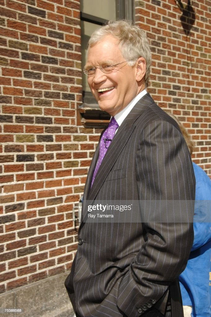 Television host <a gi-track='captionPersonalityLinkClicked' href=/galleries/search?phrase=David+Letterman+-+Television+Host&family=editorial&specificpeople=171322 ng-click='$event.stopPropagation()'>David Letterman</a> attends 'The Late Show With <a gi-track='captionPersonalityLinkClicked' href=/galleries/search?phrase=David+Letterman+-+Television+Host&family=editorial&specificpeople=171322 ng-click='$event.stopPropagation()'>David Letterman</a>' taping at the Ed Sullivan Theater July 12, 2007 in New York City.