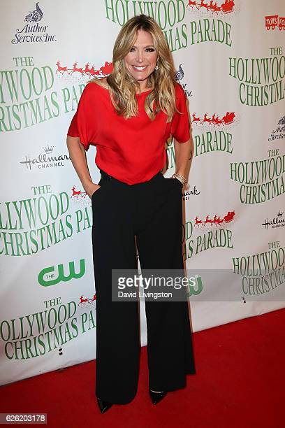 Television Host Debbie Matenopoulo arrives at the 85th Annual Hollywood Christmas Parade on November 27 2016 in Hollywood California
