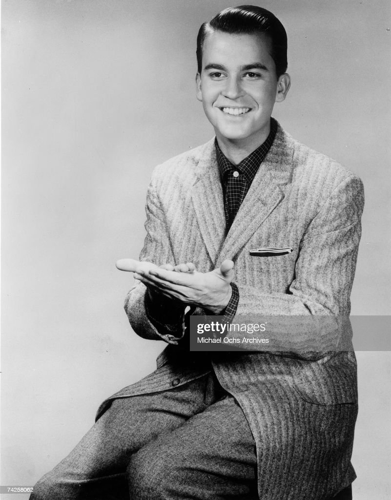 Television host Dick Clark poses for a portrait in circa 1957
