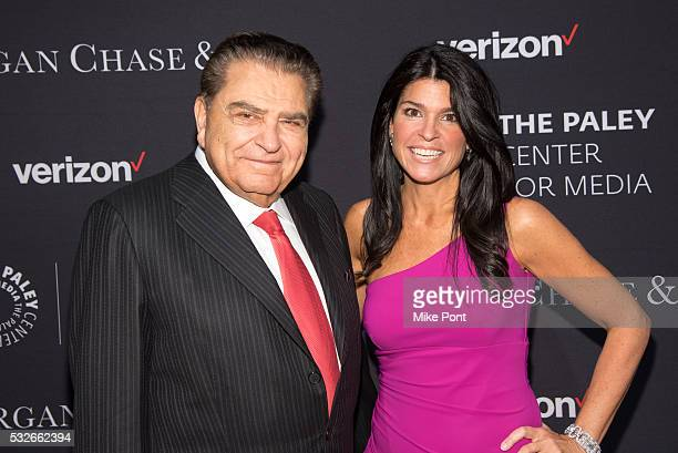 Television host Don Francisco and President and CEO of The Paley Center for Media Maureen J Reidy attend the 2016 Paley Center for Media's Tribute To...