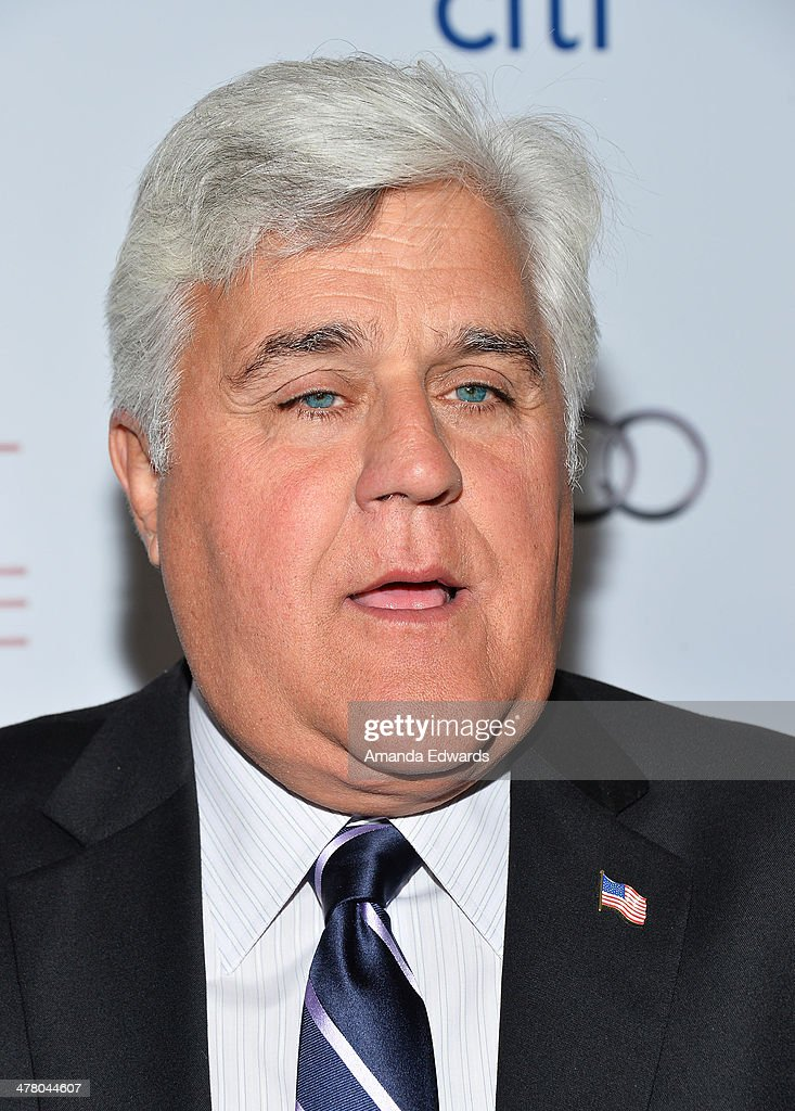 Television host Jay Leno arrives at the The Television Academy's 23rd Hall Of Fame Induction Gala at The Regent Beverly Wilshire Hotel on March 11, 2014 in Beverly Hills, California.