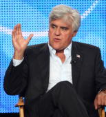 Television host Jay Leno of the 'Jay Leno Show' speaks during the NBC Network portion of the 2009 Summer Television Critics Association Press Tour at...