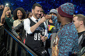 Television host Jimmy Kimmel appears during TIDAL X 1020 Amplified by HTC at Barclays Center of Brooklyn on October 20 2015 in New York City