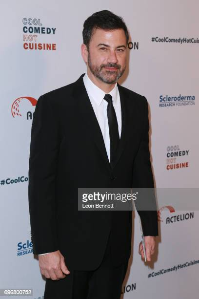 Television host Jimmy Kimmel attends the 30th Annual Scleroderma Benefit at the Beverly Wilshire Four Seasons Hotel on June 16 2017 in Beverly Hills...