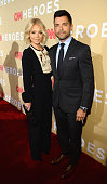 Television host Kelly Ripa and Mark Consuelos attend CNN Heroes 2015 Red Carpet Arrivals t American Museum of Natural History on November 17 2015 in...