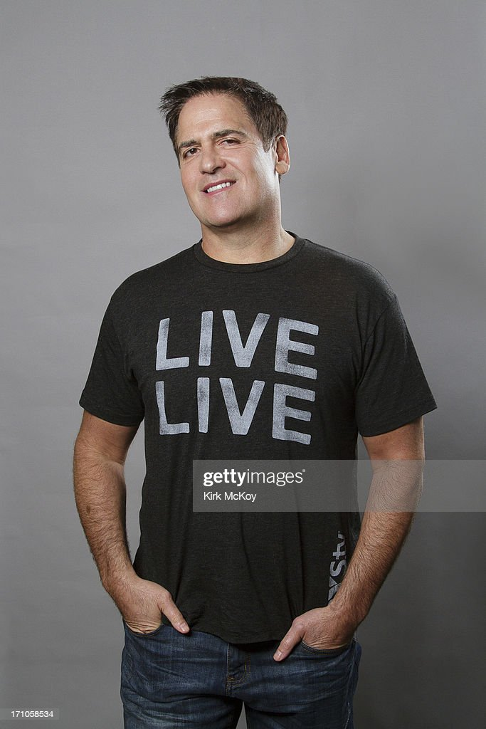 Television host <a gi-track='captionPersonalityLinkClicked' href=/galleries/search?phrase=Mark+Cuban&family=editorial&specificpeople=203295 ng-click='$event.stopPropagation()'>Mark Cuban</a> is photographed for Los Angeles Times on April 30, 2013 in Los Angeles, California. PUBLISHED IMAGE.