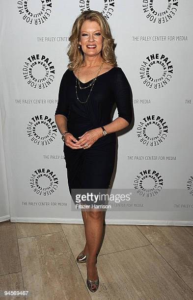 Television Host Mary Hart arrives at the Paley Center For Media's Salute To The Kennedy Center Honors on December 16 2009 in Beverly Hills California