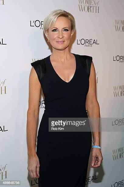 Television Host Mika Brzezinski attends L'Oreal Paris' Ninth Annual Women Of Worth Celebration at The Pierre Hotel on December 2 2014 in New York City