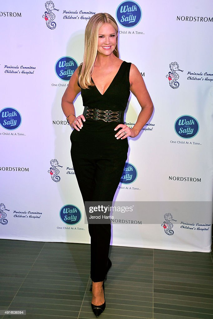 Television host Nancy O'Dell attends Nordstrom Del Amo Fashion Center Opening Gala at Nordstrom Del Amo Fashion Center on October 6 2015 in Torrance...