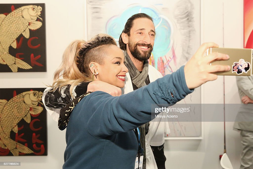 Art New York and CONTEXT Kick Off For 2016 New York Art ... Adrien Brody Art