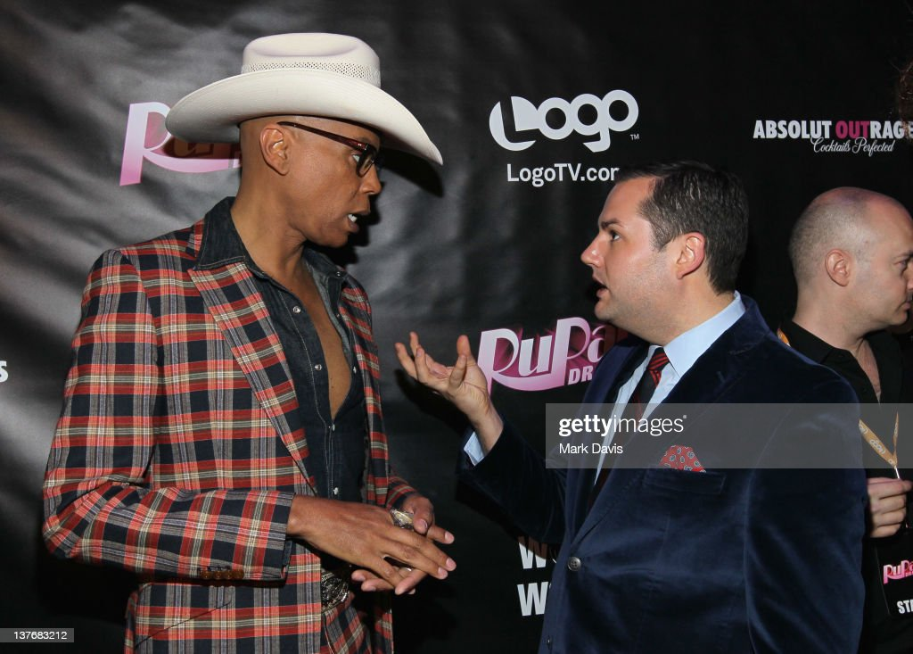 Television host rupaul l and television personality ross mathews